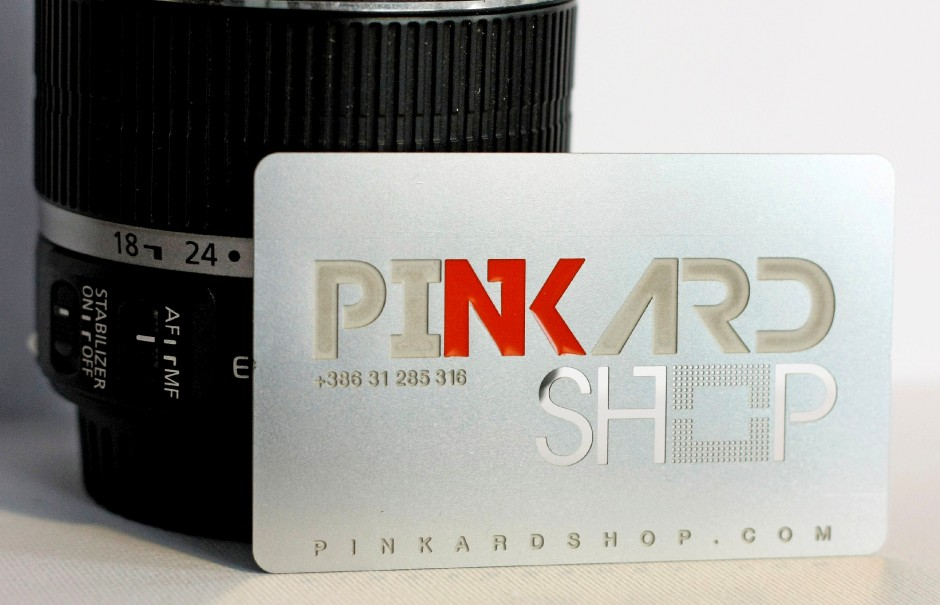 Metal stainless steel business cards with enameling plastic enamel of your choice on steel business cards this option is for enameling in 1 color it is better to check the file for the perfect feasibility reheart Choice Image