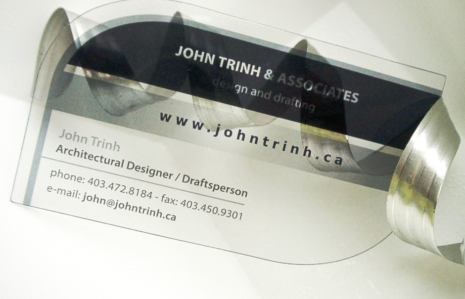 Customized cut for plastic business cards Pinkograf - Plastic ...
