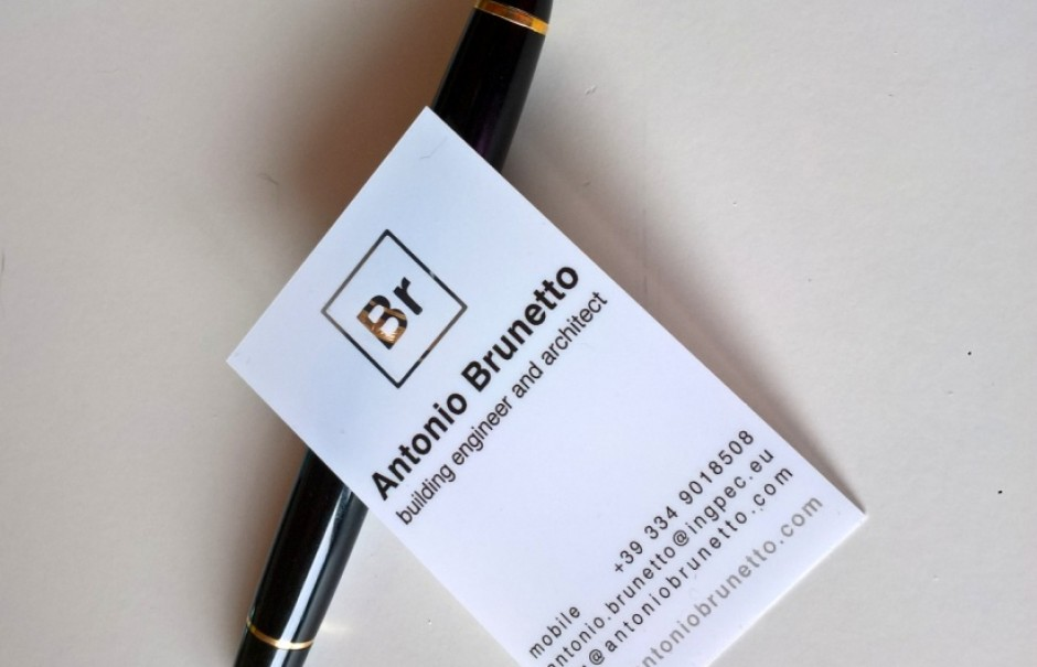 Architects business cards - Plastic Business Cards, Clear Business ...